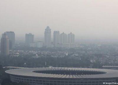 Polusi Udara di Negeri Paru-paru Dunia