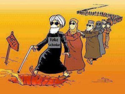 ilustrasi taqlid buta. Foto: Internet