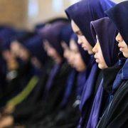 Wanita Bercadar Sholat