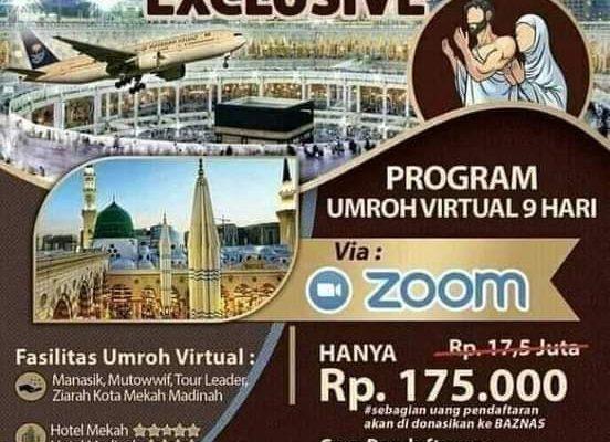 Banner Umrah Virtual